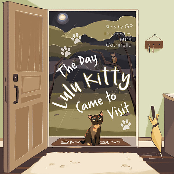 The Day Lulu Kitty Came To Visit - Children's Book